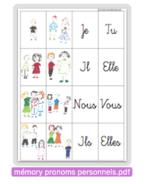 Conjugaison - pronoms personnels
