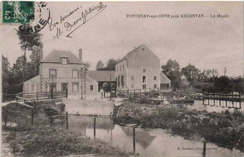 FONTENAI-SUR-ORNE (rive gauche)