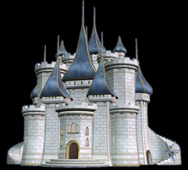 Tube de château de contes de fée (image png)