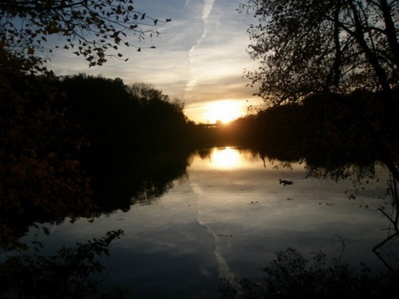 Un de mes couchers de soleil dont je suis très fière