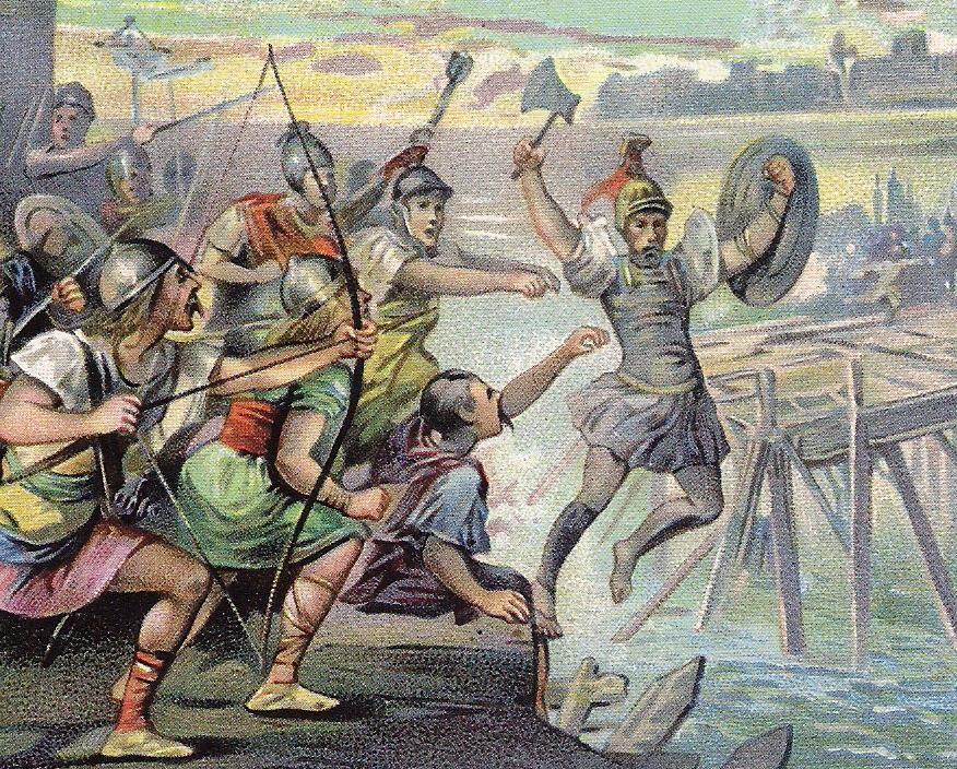 horatius cocles le pont sublicius