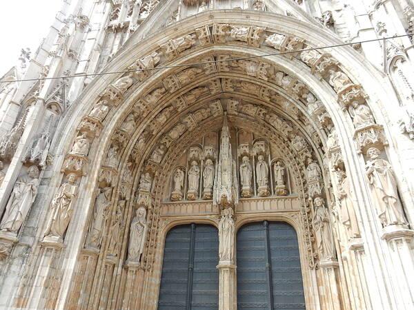 Extérieur de l'église du Sablon