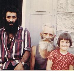 Jean Jacques papa et une copine