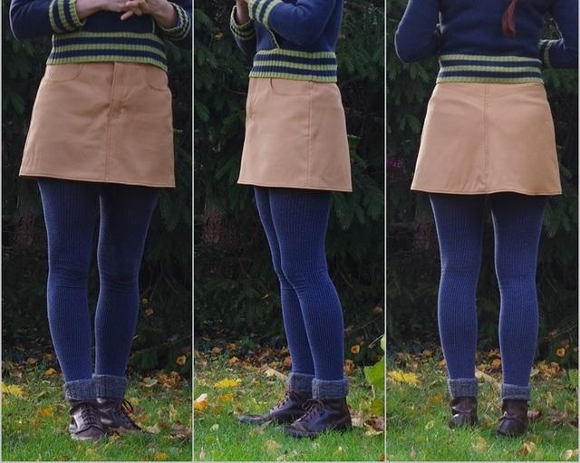 [Les Petits Boudins] Adapter le short en jupe