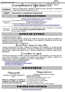 Des synthèses Picot explicites !