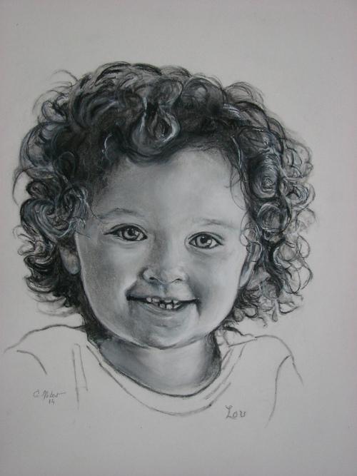 Encore un nouveau portrait d'enfant.