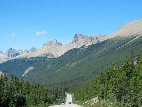 En Alberta, les Rocheuses