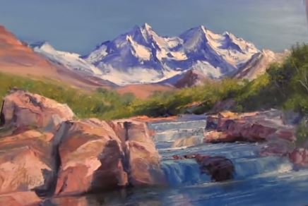 Dessin Et Peinture Vidéo 1633 Apprendre à Peindre Un Paysage De
