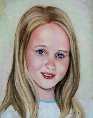 Portraits aux pastels