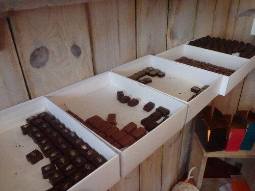 Chocolaterie à Petit bourg d'Anne Solenn