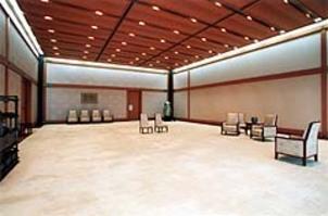 Photographie de l'intérieur du palais impériale de Tokyo