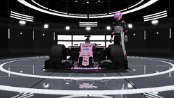 Sahara Force India F1 Team - Esteban Ocon