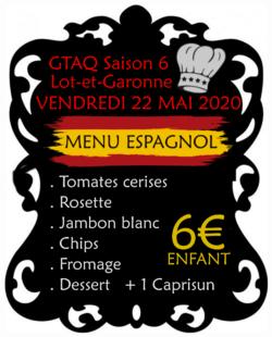 GTAQ 6 : LES REPAS