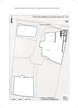 —- Source : L'ÉVOLUTION D'UN HABITAT DANS LA VALLÉE DE LA DRÔME : DE LA VILLA DU HAUT EMPIRE À L'ÉTABLISSEMENT DU HAUT MOYEN ÂGE — MAI 2011 - Mosaïques Archéologie - Document pouvant être protégé par Copyright ou autre —-
