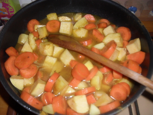 curry de légumes à ma façon