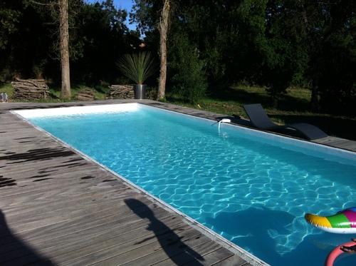 La piscine est en eau !
