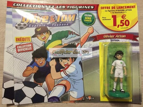 N° 1 Figurines Olive & Tom Captain Tsubasa - Test