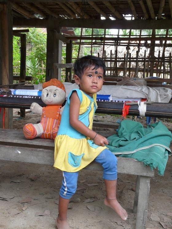 portrait d'enfant en Inde