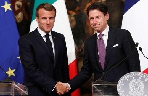 à peine  Salvini  parti, remplacé  par Conté