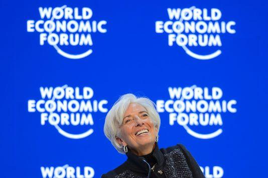 Christine Lagarde, le 23 janvier.