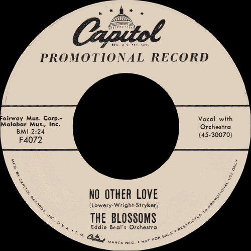 "The Blossoms:  CD"" Saw-In-Law The Singles Years 1957-1970 "" SB Records DP 128 [ FR ]"