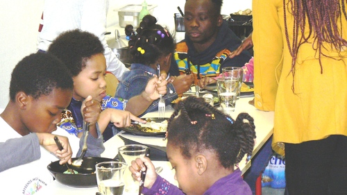 """Journée culturelle du 21 décembre 2014! Un vrai bonheur pour les familles et les membres de l'association """"Apprends-moi à comprendre"""""""