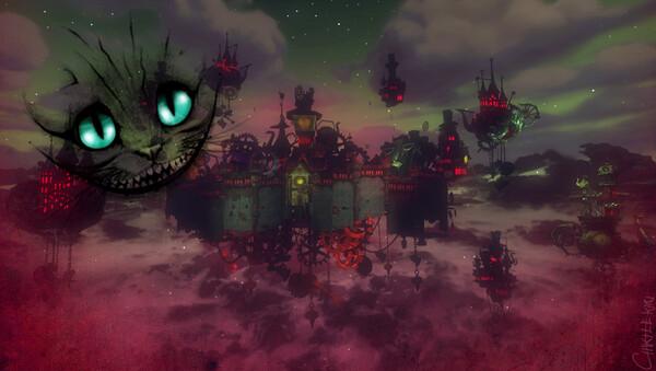 Créations sur le thème d'Alice in Wonderland