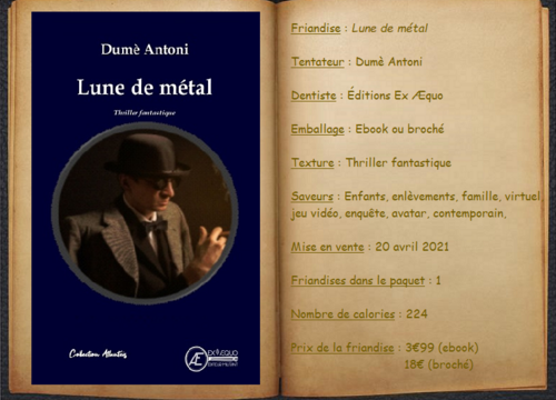 Lune de métal - Dumè Antoni