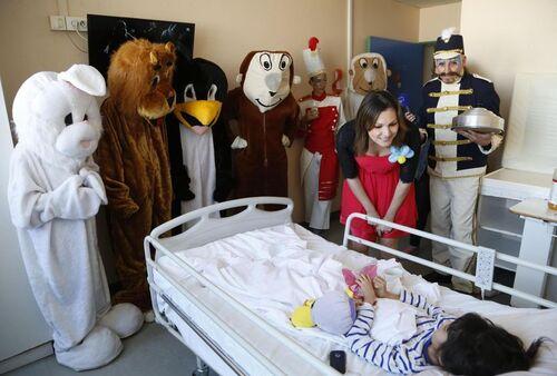 le 18 03 2019 Hôpital universitaire Necker-Enfants malades