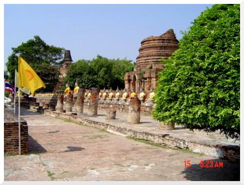 Ayutthaya, ancienne capitale du Siam. Thaïlande.