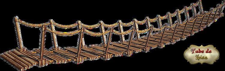 Joli pont suspendu