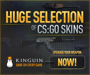 Kinguin - CS:GO Skins 300x250