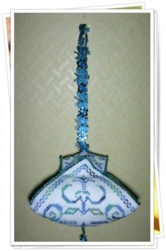 biscornu pagode martine 4