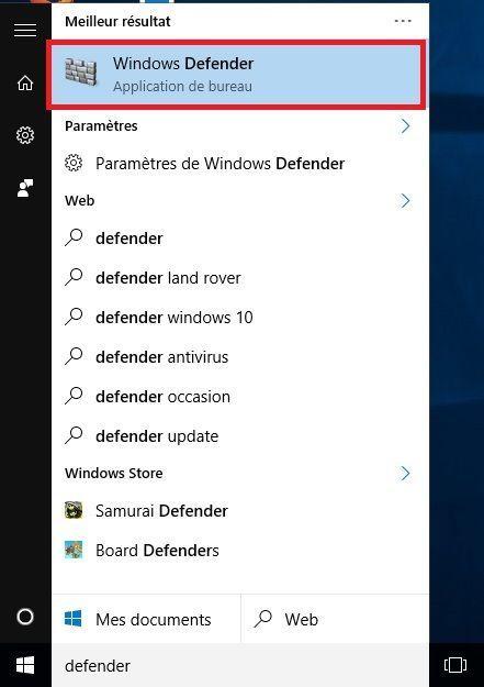 Désactiver Windows Defender et Microsoft Security Essentials (MAJ Windows 10) !