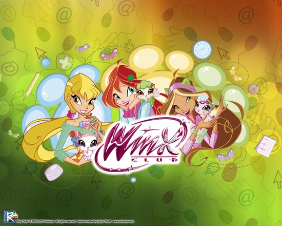 WinxPetsStellaBloomFloraGroup2_1280x1024