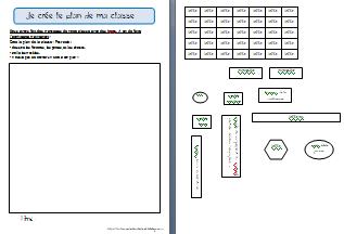 Le plan de la classe