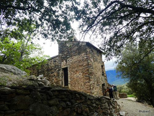 La chapelle romane dédiée à Saint Christophe