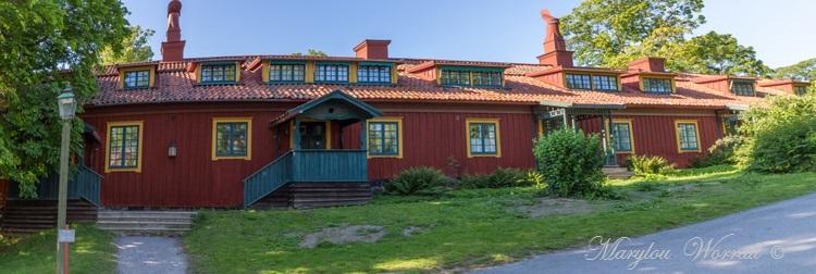 Suède : Écomusée Skansen la petite ville 1/2
