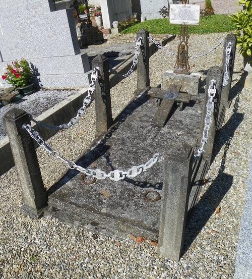 Le cimetière de Nances