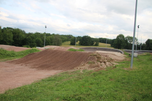 album photo modification piste BMX Semaine 1 18 au 22 juin 2018