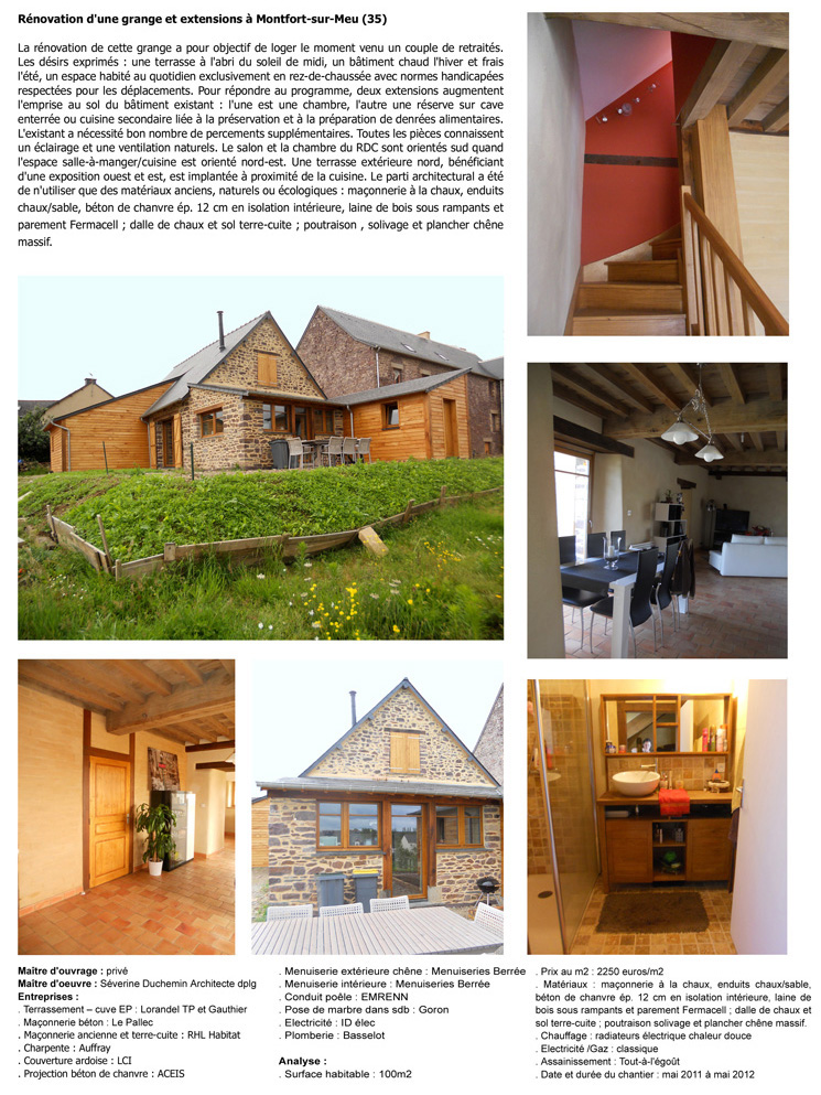 Séverine Duchemin-architecte-Rénovation d'une grange et extension