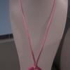 pendentif rose rose 8euros