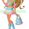 Flora Fashion Jean style 2