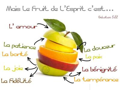 Calendrier Biblique - Le Fruit de l'Esprit (1)