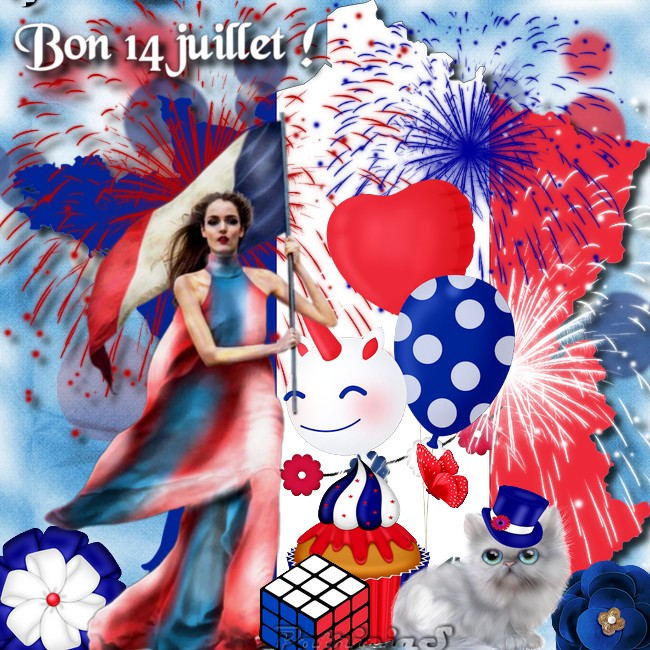 bon weekend du 14 juillet