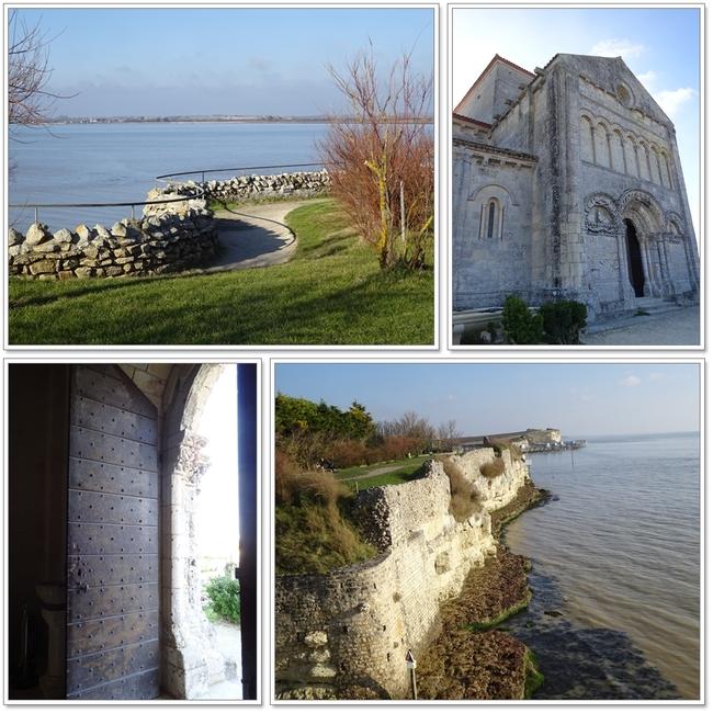 Talmont sur Gironde en hiver