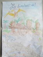 """Deuxième exposé """"Les dinosaures"""""""
