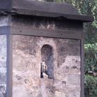 La vierge sur la cheminée