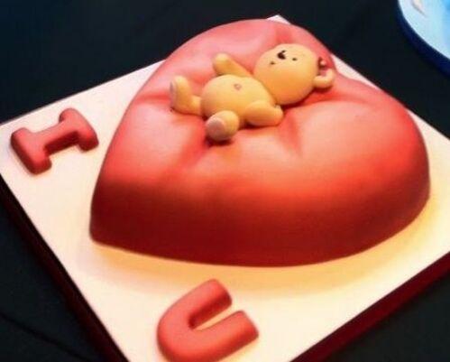 Décoration du Gâteau de la Saint Valentin: