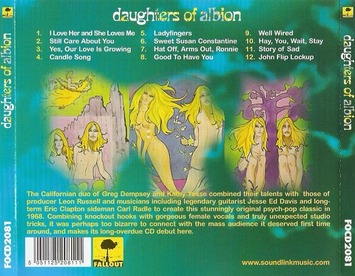 Chefs d'oeuvre oubliés # 4: Daughters of Albion - S/T (1968)